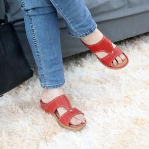 Ladies Sandal Red
