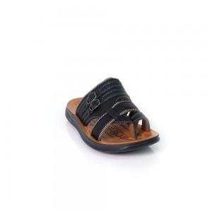 Children Sandals Slip On  Brown Black