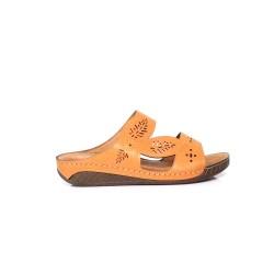 [Plus Size] Ladies Sandal Beige