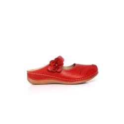 [Plus Size] Ladies Sandal Red