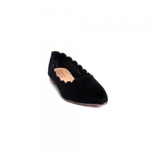 Hypershoe Ladies Casual Slip On Black (001589)