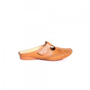 Hypershoe Ladies Casual Shoe Khaki [YC022(17)]