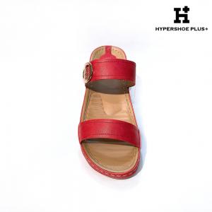 [Plus Size] Ladies Sandal Red Strap