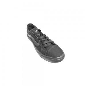 Black Synthetic School Shoe (XW600262(18)