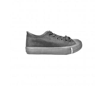 Black synthetic school shoe (TY808B)