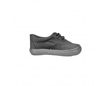 Unisex Black School Shoes (TY909)