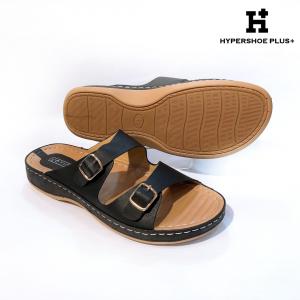 [Plus Size] Ladies Sandal Black