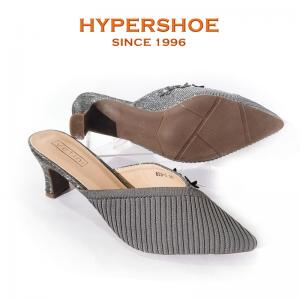 Hypershoe Ladies High Heel Grey (193-8333)